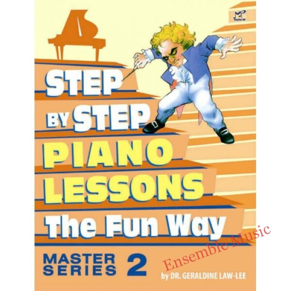 step by step piano course master 2