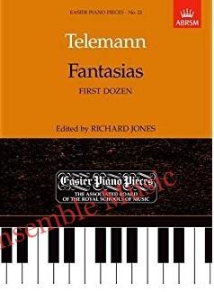 telemann fantaisies first dozen 22