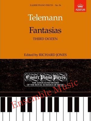 telemann fantaisies third dozen 56