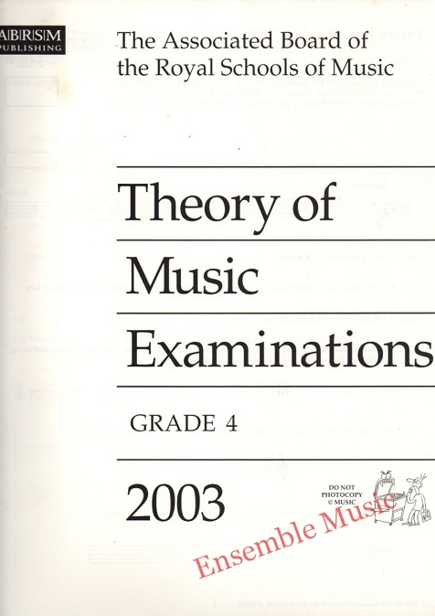 theory G4 2003