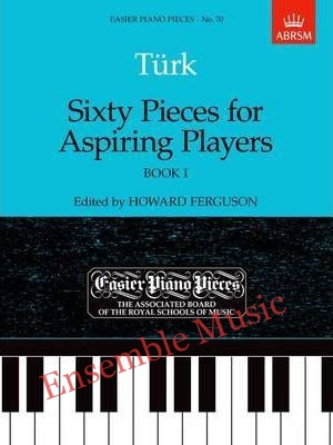 turk sixty pieces for aspiring players book 1 70