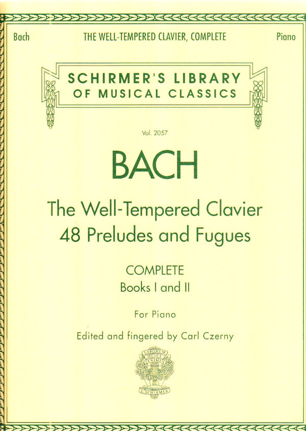 well tempered clavier 48 preludes and fugues
