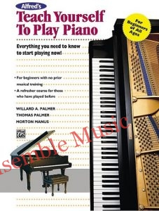 alfred teach yourself to play piano beginner