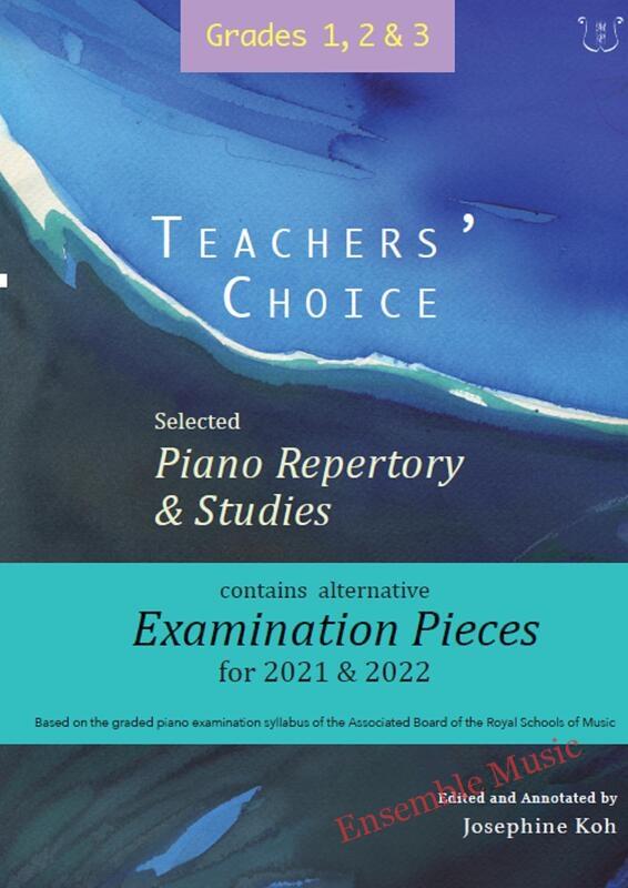 Teachers choice selected piano repertory studies Grade