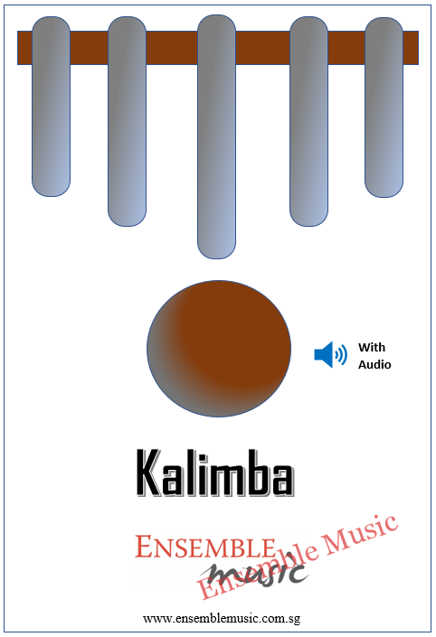 Kalimba Lessons w Audio Cover
