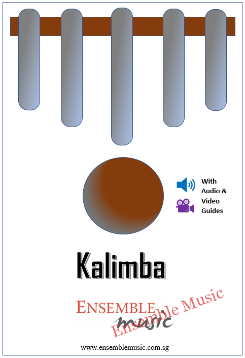 Kalimba Lessons w Audio Video Cover