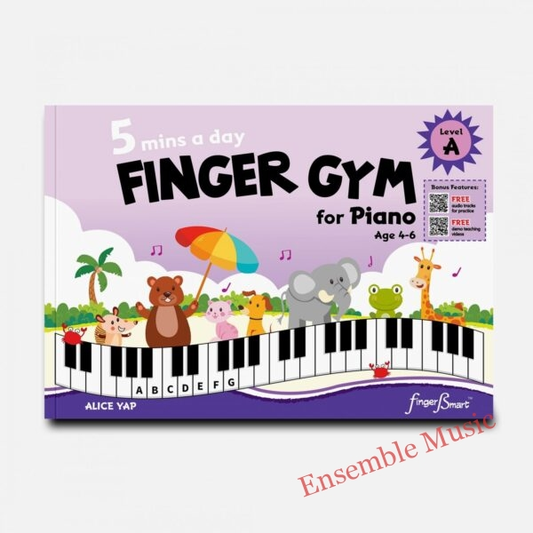 mins a day FINGER GYM for Piano Level A