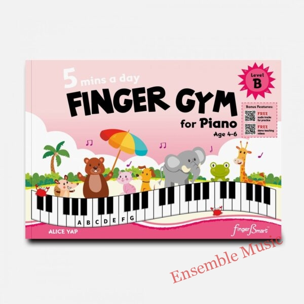 mins a day FINGER GYM for Piano Level B