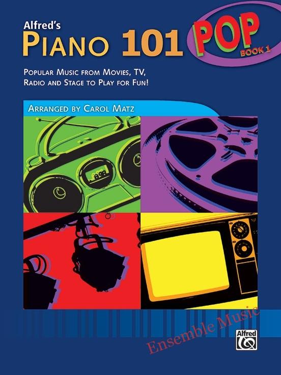 Alfreds piano pop book