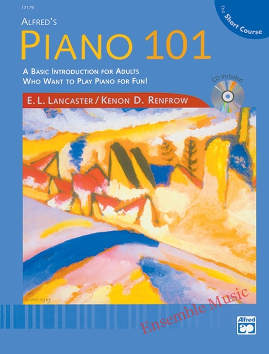 Alfreds piano the short course book