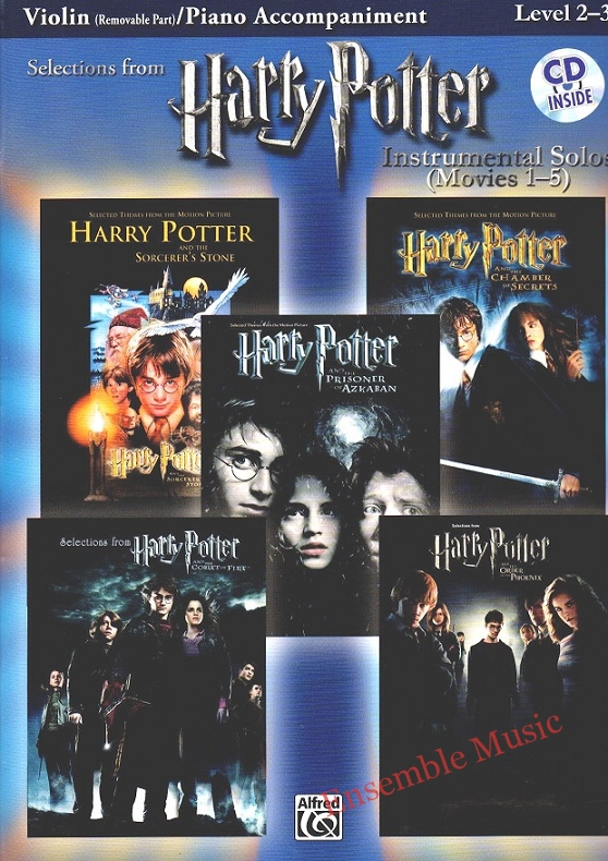 Harry Potter Movies Violin and Piano Acc Level