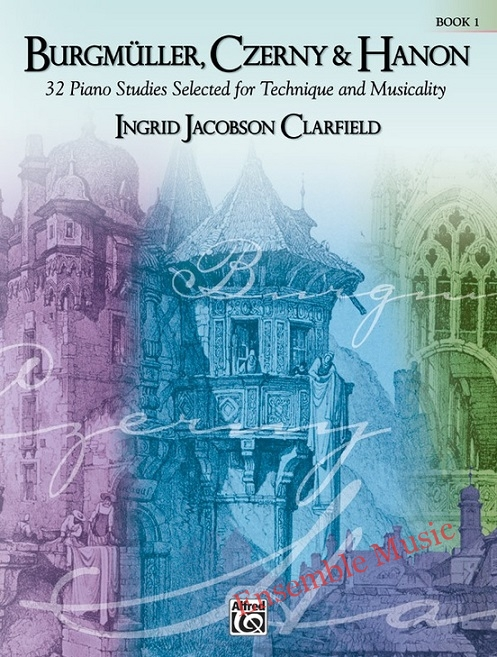 burgmuller czerny Hanon Ingrid Jacobson Clarfield Book Alfred