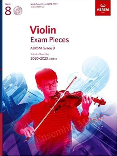 Violin exam pieces CD grade