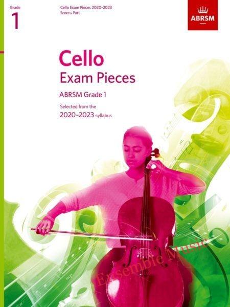 abrsm cello exam pieces grade book