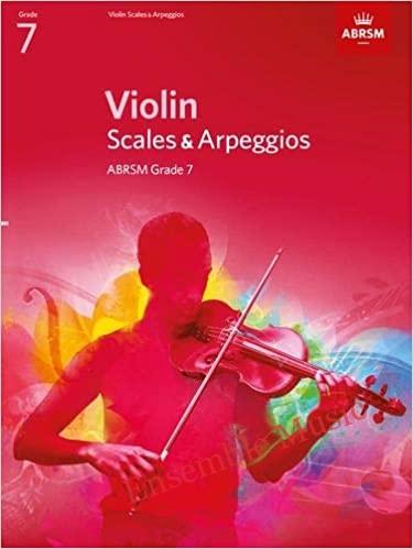 violin scales arpeggios grade from
