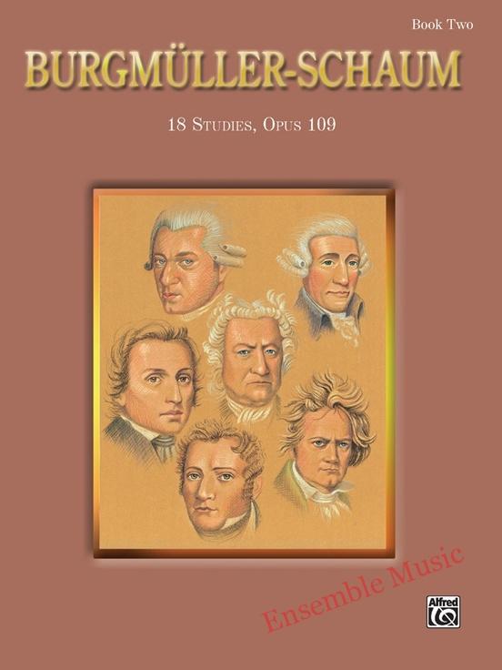 Burgmuller schaum book
