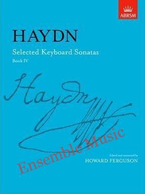 Haydn selected keyboard sonatas book IV