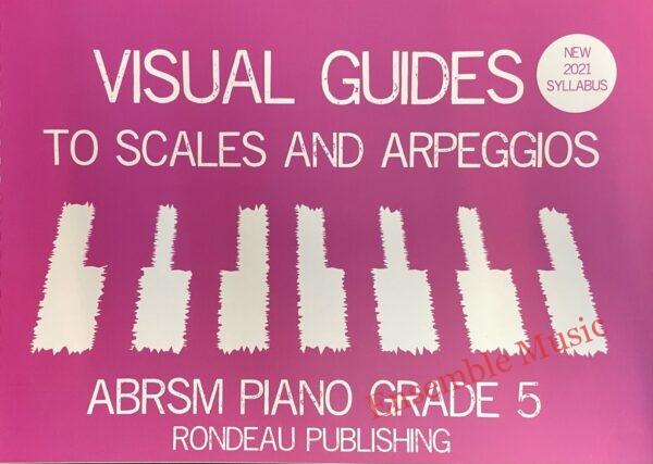 Visual guides to scales arpeggios piano grade