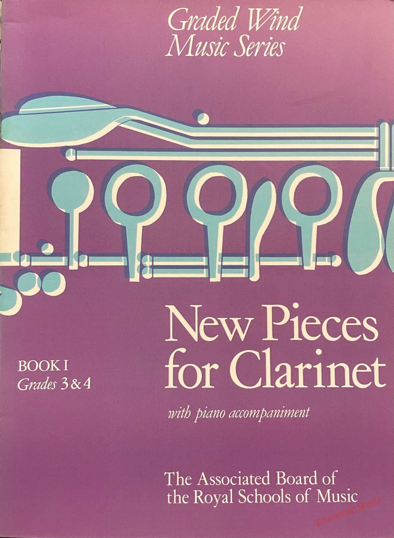 New pieces for clarinet bk grade